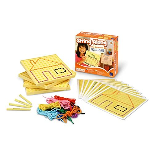 Learning Resources Kit De Laçage String-Along Pour La Classe De -