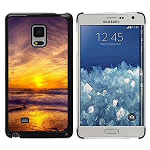 """For Samsung Galaxy Mega 5.8 , S-type Puesta de sol Mar Beautiful Nature 11"""" - Arte & diseño plástico duro Fundas Cover Cubre Hard Case Cover"""