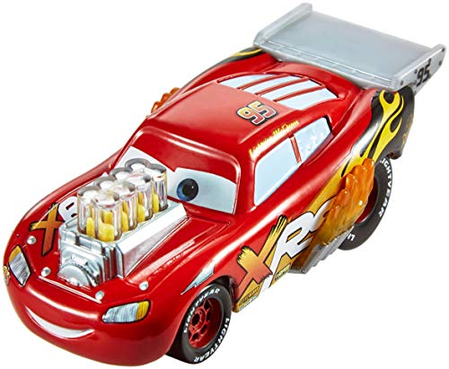 Disney Pixar Cars XRS Drag Racing Lightning McQueen (1 18 Scale Diecast Drag Racing Cars)