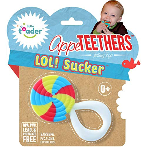 (Little Toader Teething Toys, LOL Sucker)