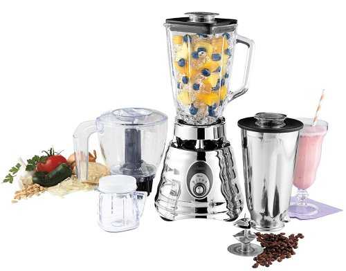 Oster BLSTBC4129 Kitchen Center Beehive blender,  Silver (Osterizer Classic Blender)