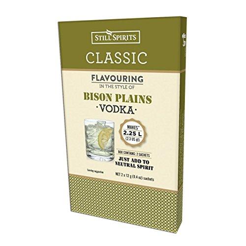 Still Spirits Classic Bison Plains Vodka Premium Essence Flavours 2.25L