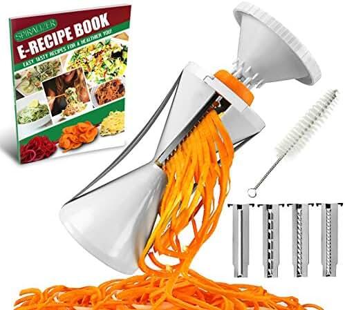 Spiralizer 4 Blade Vegetable Spiral Slicer