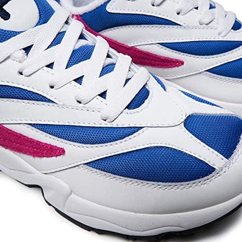 Fila V94M Low Wmn Dames Sneaker 1010291 03H White Electric Blue Very Berry (39 EU)