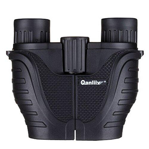 Qanliiy 10 X 25 Power View Compact Binoculars Telescope for