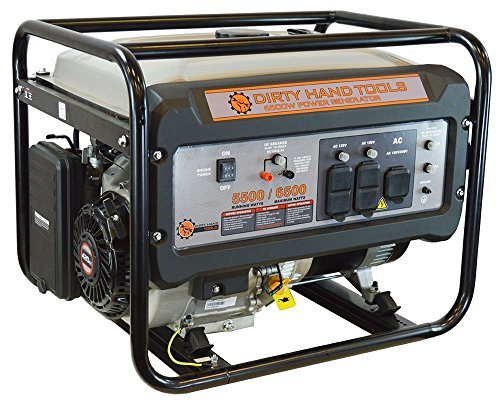 Dirty Hand Tools 6500W Gas Powered Generator