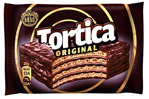 Tortica Chocolate Wafer with Chocolate (Kras) 25g