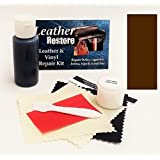 Leather Repair Kit with READY TO USE Color, DARK BROWN by Leather Restore