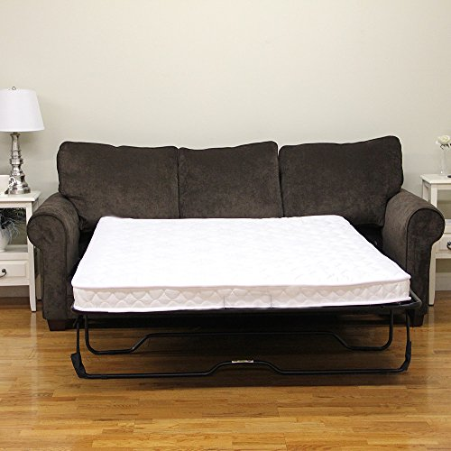 Classic Brands 4.5-Inch Innerspring Replacement Mattress for Sleeper Sofa Bed, Full