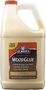 Elmer's Products, Inc E7050LMR Carpenters Wood Glue Elmer's, 1 Gallon, Tan, 160 Fl Oz