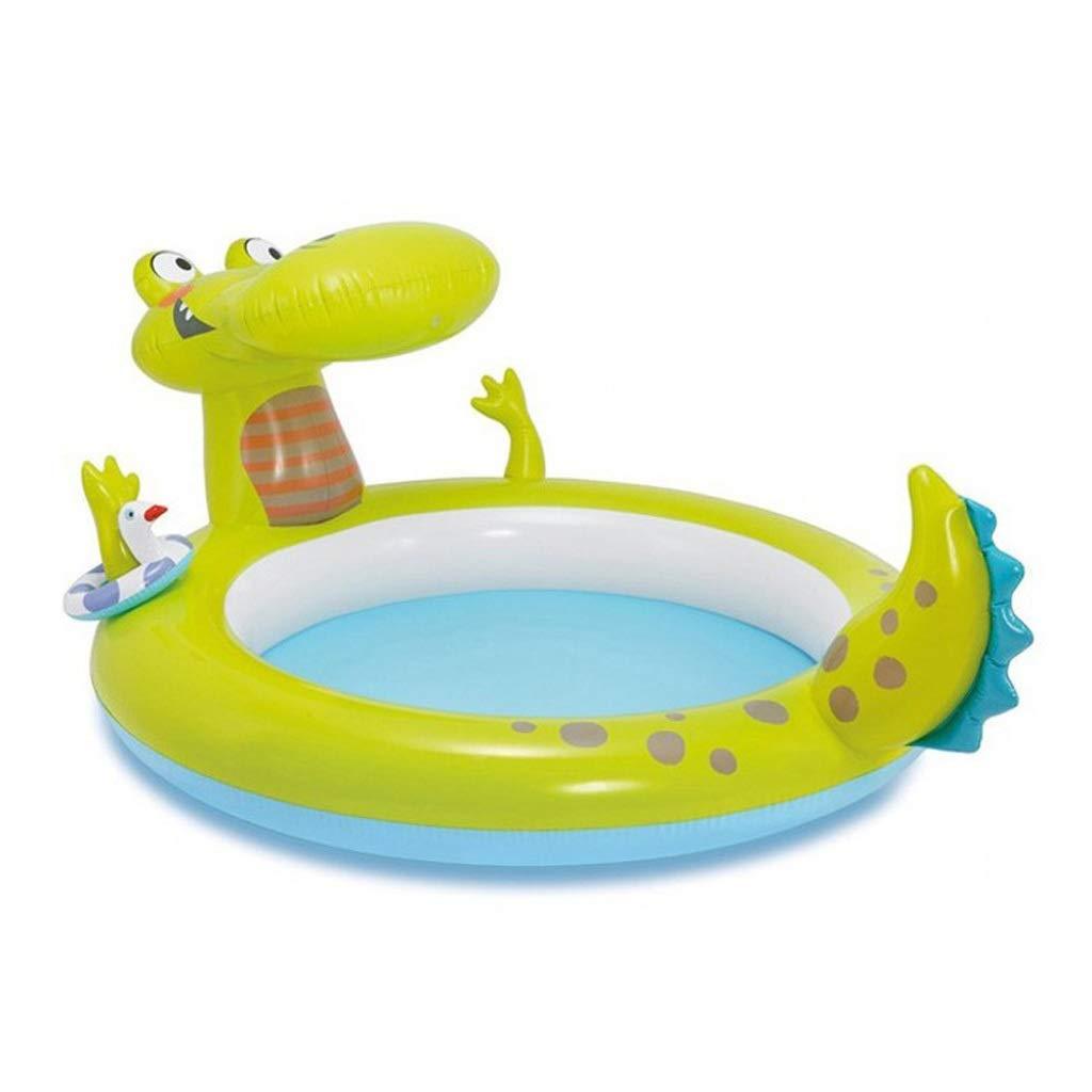 Amazon.com: Piscina infantil inflable de cocodrilo con ...