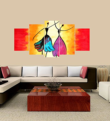 LARGE] Premium Quality Canvas Printed Wall Art Poster 5 Pieces / 5 ...