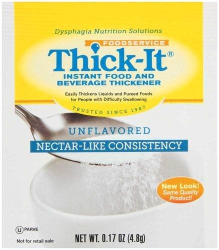 Thick It Instant Food and Beverage Thickener, 0.17 Ounce - 200 per case. by PRECISION FOODS INC