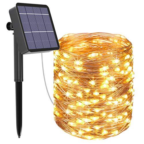 320LED 32M Solar Fairy Lights Waterdichte Solar Lights Outdoor Tuin 8 Modi Micro Koper Draad Zonne-energie String Lights…