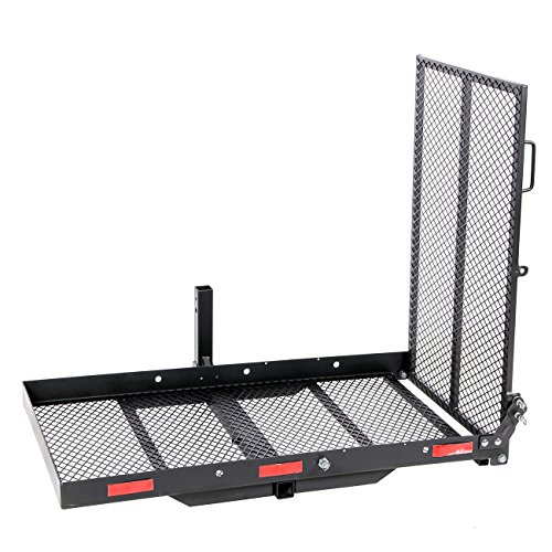 Amazon.com: ARKSEN Fold Up Mobility Carrier Wheelchair Electric Scooter Rack Medical Ramp: Health & Personal Care
