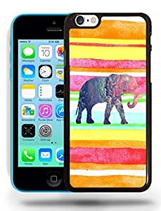 Aztec Tribal Space Elephant Hipster Pattern Phone Case Cover Designs for iPhone 5C wangjiang maoyi