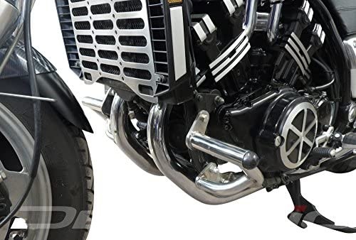 DE.SOUL Engine Guard Highway Crash Protector Bars for Yamaha V-Max 1200 85-07 Black