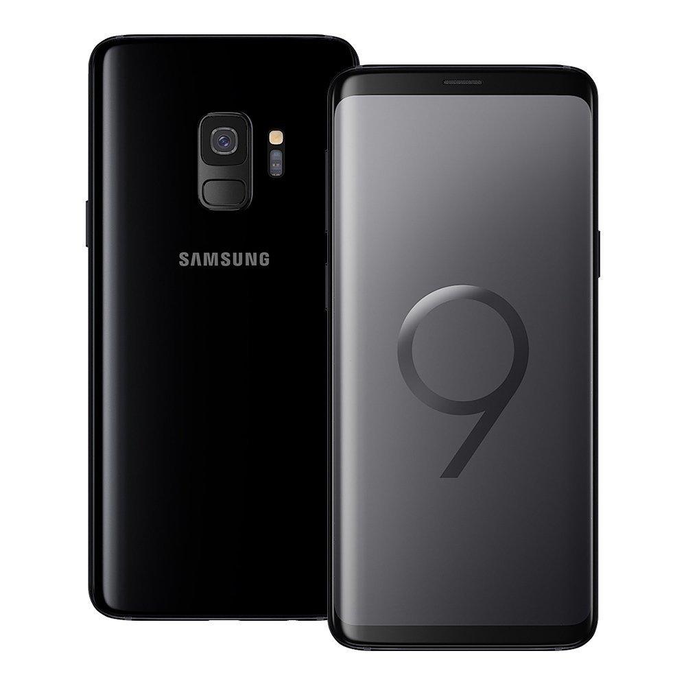 Samsung Galaxy S9 (SM-G960F/DS) 4GB/64GB 5.8-inches LTE Dual SIM Factory Unlocked - International Stock No Warranty (Midnight Black)