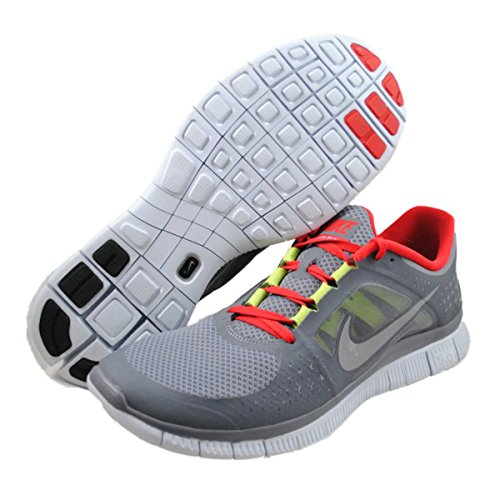 0099d16b570 Nike Free Run 3 Cool Grey Red Mens Barefoot Running Shoes 510642-006 - Buy  Online in Oman.