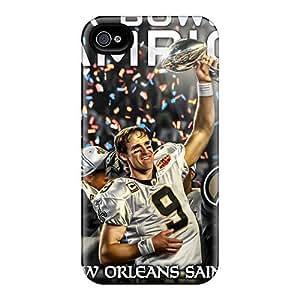 Iphone 4/4s FpI11156feSx Unique Design Nice New Orleans Saints Series Bumper Phone Case -JamieBratt