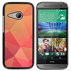 Planetar® ( Brown Carton Boxes ) HTC ONE MINI 2 / M8 MINI Fundas Cover Cubre Hard Case Cover
