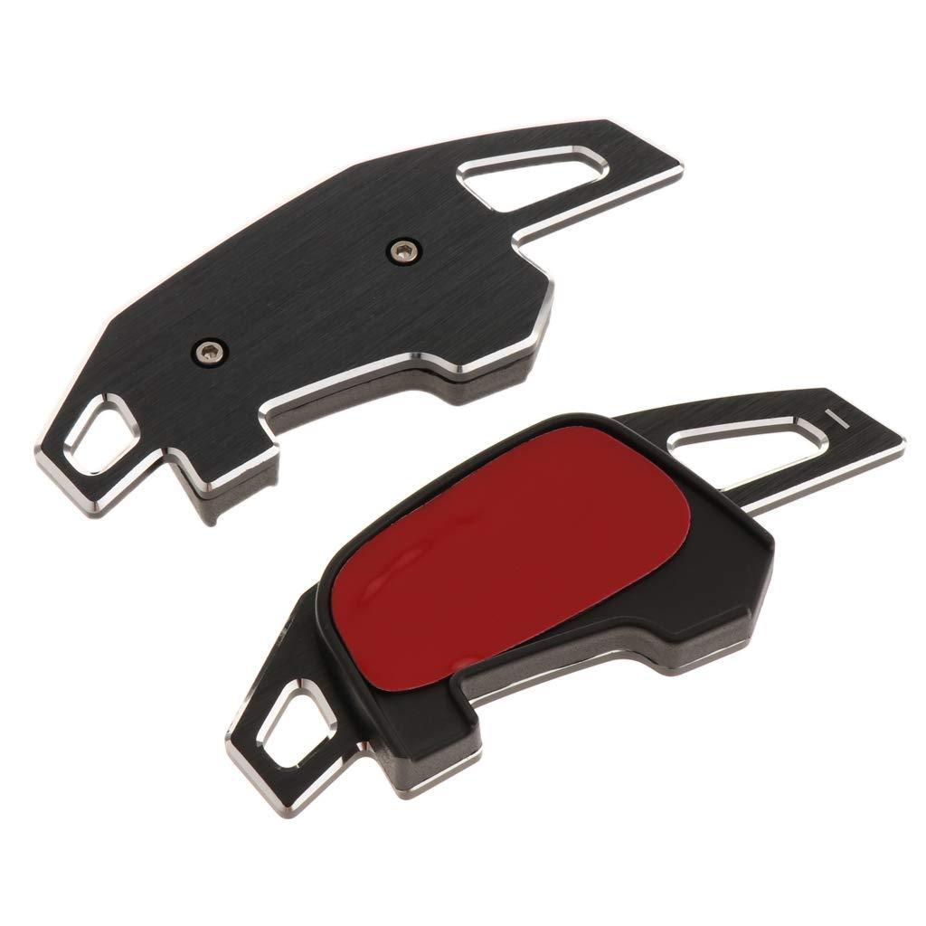 perfk Paire de Paddle Shift Extension Bascule Palettes de Commande Aluminium pour Golf7 MK7