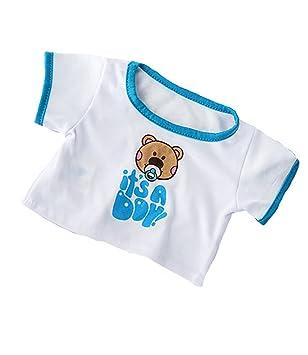 Amazon Com It S A Boy T Shirt Teddy Bear Clothes Fits Most 14 18