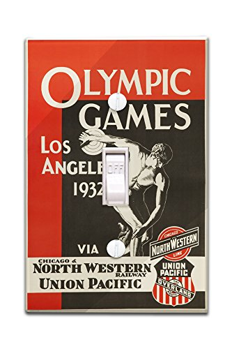 los-angeles-olympic-games-1932-north-western-union-pacific-vintage-poster-usa-c-1932-light-switchpla