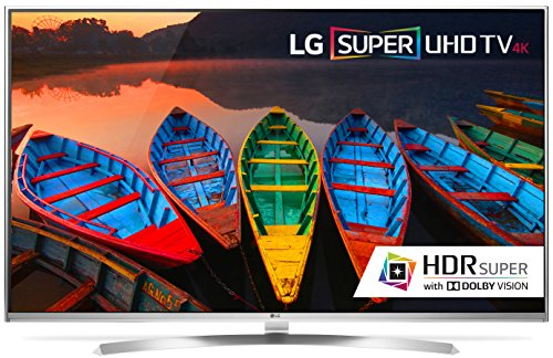 LG Electronics 65UH8500 65-Inch 4K Ultra HD Smart LED TV (2016 Model)