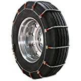 Security Chain Company TA2069 Alloy Radial Heavy Duty Truck Super Singles and Wide Base Tire Traction Chain - Pack of 1