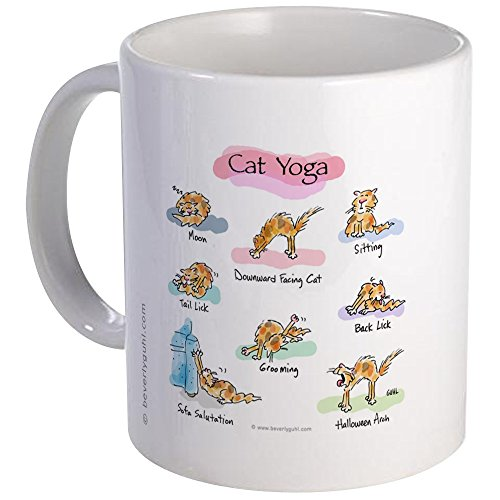 CafePress YOGA POSES Unique Coffee