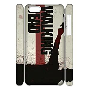 LJF phone case C-EUR Diy 3D Case The Walking Dead for iphone 6 4.7 inch