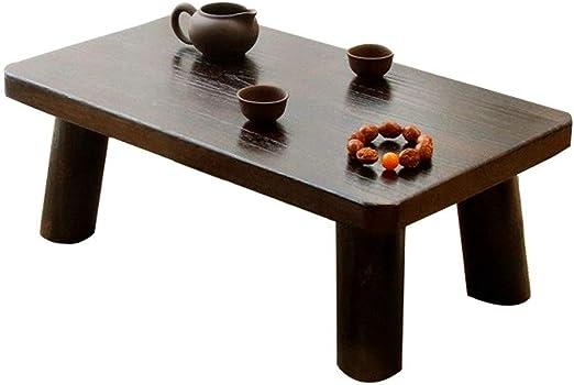 Muebles y Accesorios de jardín Mesas Mesa de la Sala de café de Madera sólida Mesa