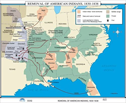 Amazon com: Removal of American Indians (U S  History Wall