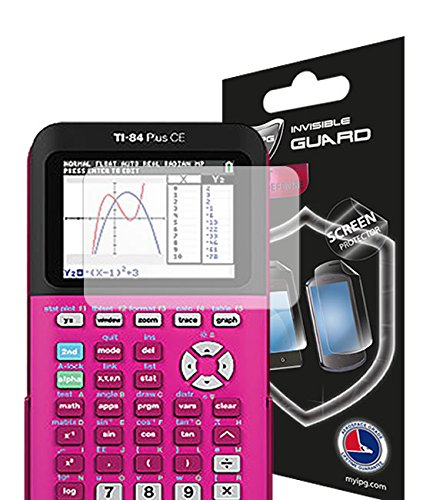 IPG for Texas Instruments TI-84 Plus CE Color Graphing Calculator Screen Protector 84 Plus CE Screen Protection