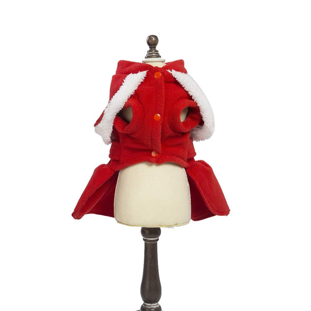 Amazon.com: Vestido de Navidad para mascota, cachorro, perro ...