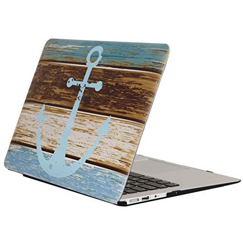 YMIX  Plastic Cover Snap on Hard Protective Case for MacBook Air 13(A1466 & A1369) , 01 Anchor