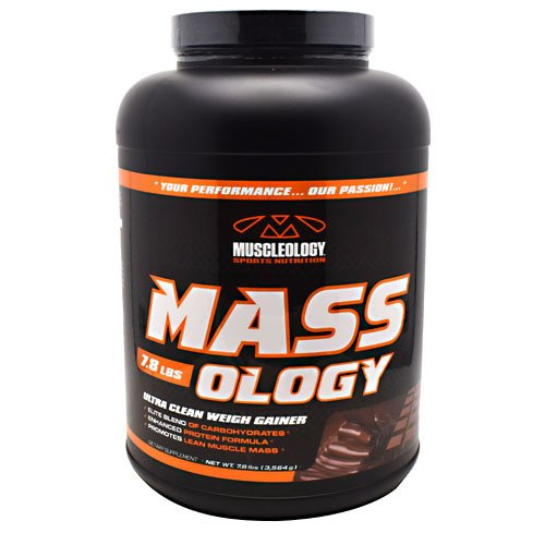 Muscleology Sports Nutrition Mass-ology Ultra Clean Weight Gainer Chocolate 7.8 lbs
