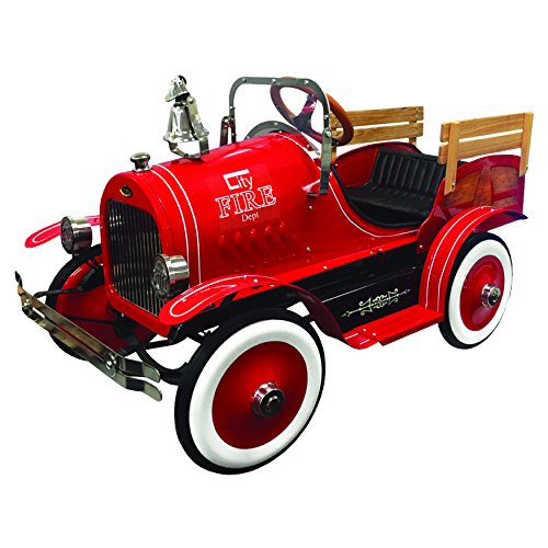 Dexton DX-22233F Fire Engine Roadster Pedal Car