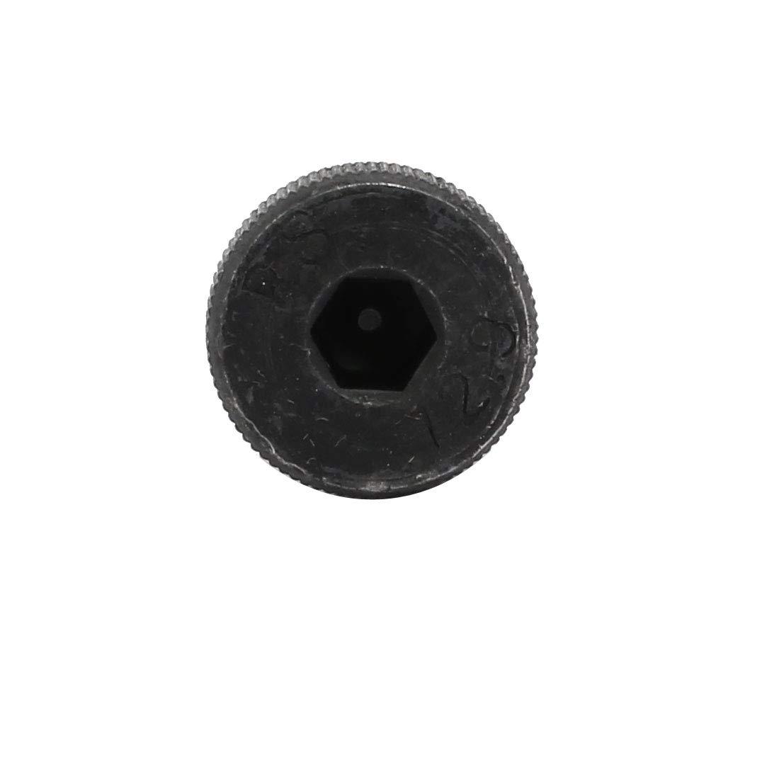 sourcing map 5pcs 40Cr Boulon D/épaule 10mm /Ø 20mm long /épaule M8x13mm