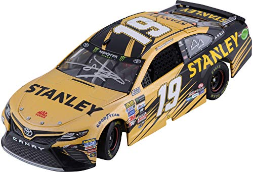 (Daniel Suarez Action Racing 2017#19 1:24 Monster Cup Series Autographed Galaxy Die-Cast Toyota Camry - Fanatics Authentic Certified)