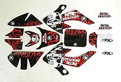 METAL MULISHA GRAPHICS DECAL STICKERS HONDA CRF50 SDG SSR 110 125 3M