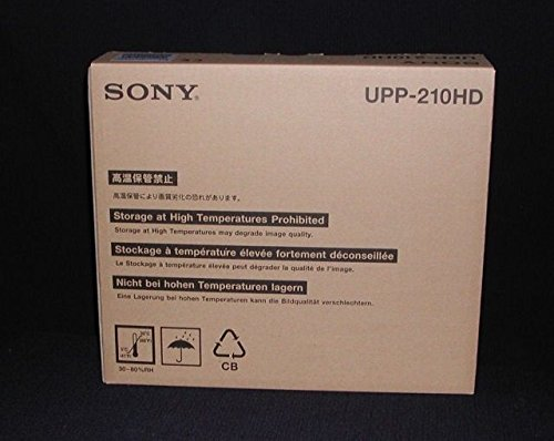 Sony UPP-210HD High-Density Black & White Media by Sony