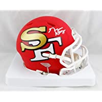 $135 » George Kittle Autographed San Francisco 49ers AMP Speed Mini Helmet- Beckett Auth White