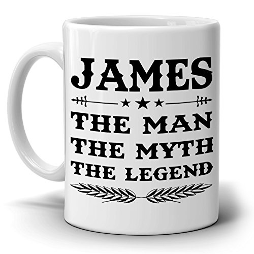 Personalized!! Papa The Man The Myth The Legend Coffee Mug, Gift for Dad and Grandpa, Perfect Present for Birthday Christmas and Fathers - Vouchers Can Next I Use Online