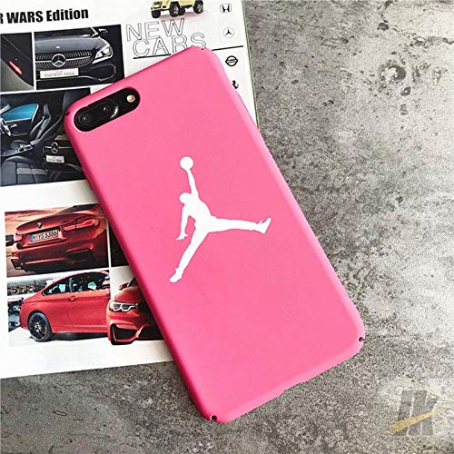 1 piece Hot jump man Jordan Matte hard plastic cover case for iphone 5 5S SE 6 6S plus 7 7plus 8 8plus X XS XR MAX Bull 23 phone coque]()
