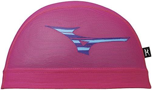 MIZUNO(ミズノ) メッシュキャップ (ユニセックス) スイム スイムアクセサリー キャップ (N2JW8011) 63蛍光ピンク