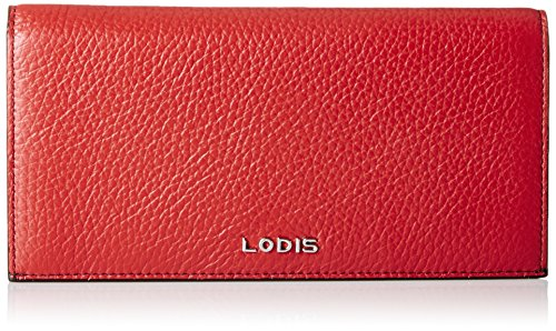 Lodis Lined Wallet (Lodis Kate Kia Wallet, Red, One Size)