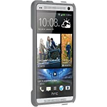 OtterBox Commuter Series for HTC One Max - Retail Packaging - Glacier - White/Gunmetal Grey (Discontinued by Manufacturer)