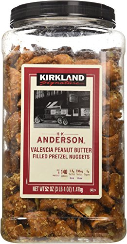 Kirkland Hk Anderson Peanut Butter Filled Pretzels 3 Lb (Pack of 2)